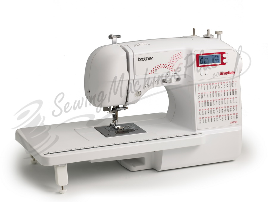 Brother Simplicity SB700T Computerized Sewing and Quilting Machine