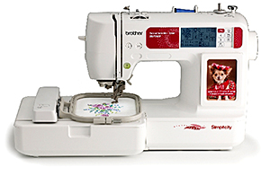 Simplicity SB7500 Sewing and Embroidery