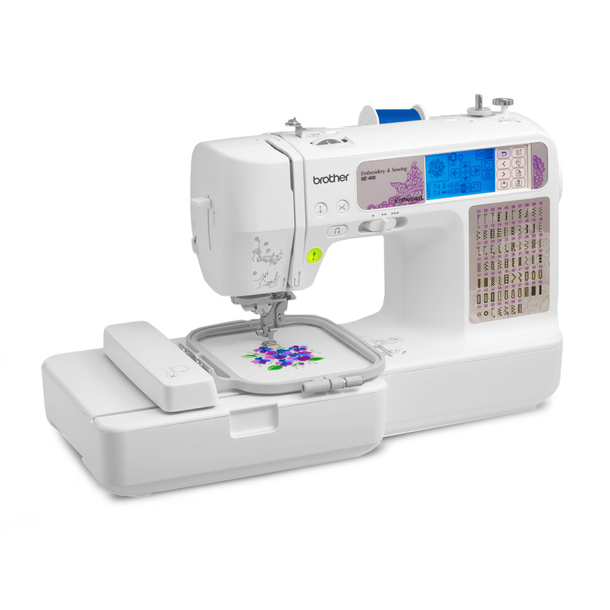 Brother SE40 FS Sewing Embroidery Machine With Computer Connectivity Interesting Brother Se400 Computerized Sewing And Embroidery Machine
