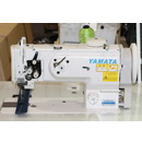 Photo of Yamata 1541S - Industrial Single Needle Walking Foot Machine with Safety Clutch Mechanism and Servo Motor(Table Comes Assembled) from Heirloom Sewing Supply