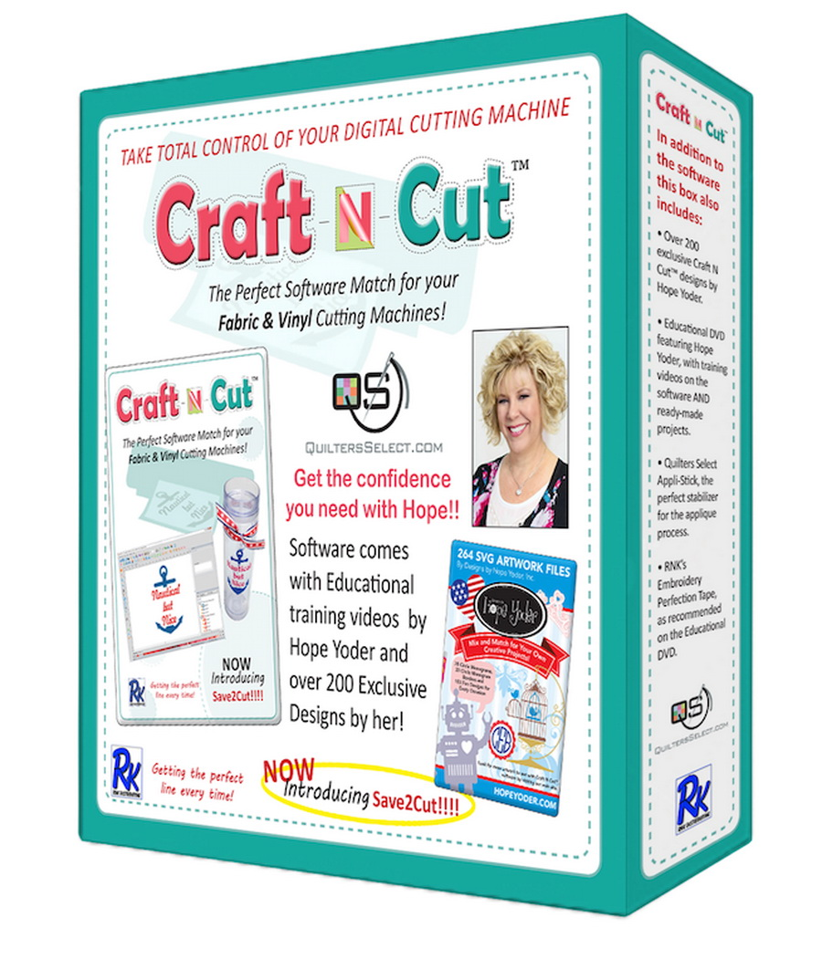 Floriani Quilters Select Craft N Cut Software