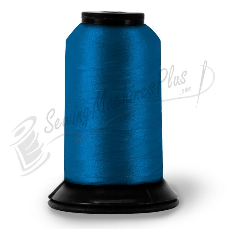 Pf0007 Floriani Embroidery Thread Oriental Blue 1100yd Spool