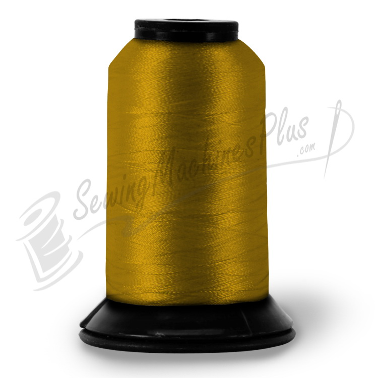 Pf0563 Floriani Embroidery Thread Old Gold 1100yd Spool