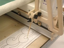 Little Gracie II Quilting Frame, Janome 1600P-DBX High Speed ... : gracie ii quilting frame - Adamdwight.com
