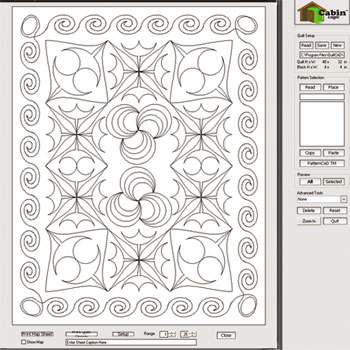 QuiltCAD Quilt-top Stitch Design Software : quilt planning software - Adamdwight.com