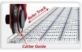 Always Straight Cuts with the Cutter Guide