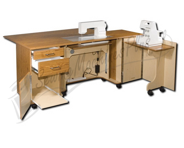 horn sewing cabinets horn 5278 elite cabinet with air lift system 16625