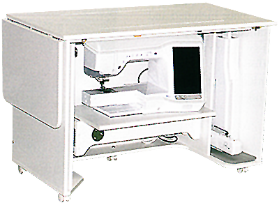 Horn 6330EL Space Saver Deluxe Cabinet shown closed