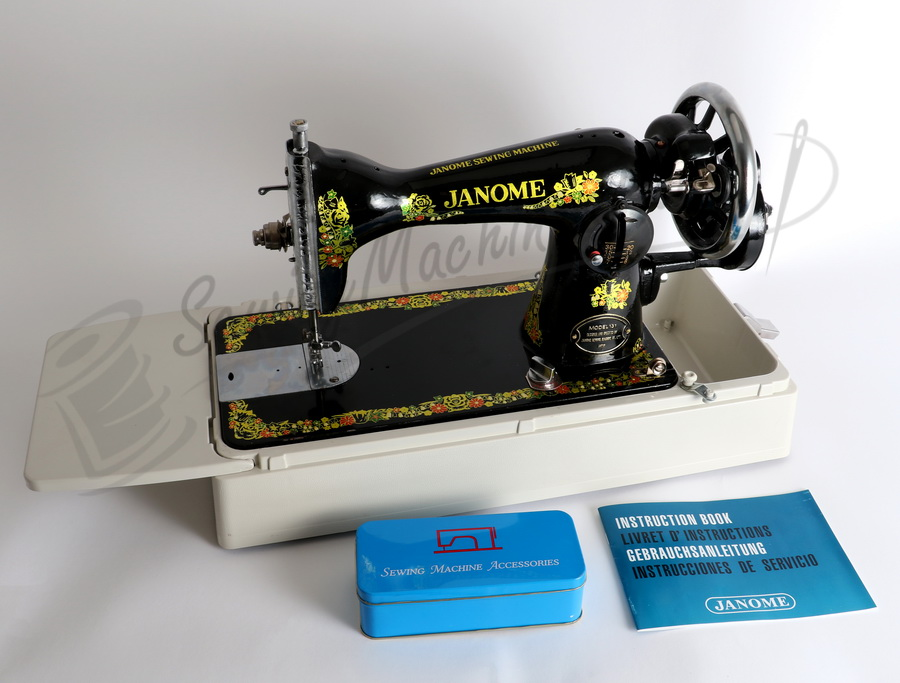 Janome 40HDL Hand Crank Sewing Machine Treadle Head Enchanting Hand Crank Sewing Machines For Sale