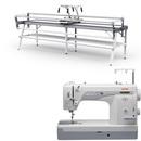 Janome 1600P-QC Sewing Machine w/ Grace GQ Quilting Frame