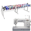 Janome 1600P-QC Sewing Machine w/ Grace Continuum Quilting Frame