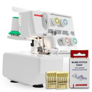 Photo of Janome 204D MyLock 3 & 4 Thread Overlock Serger & FREE BONUS from Heirloom Sewing Supply