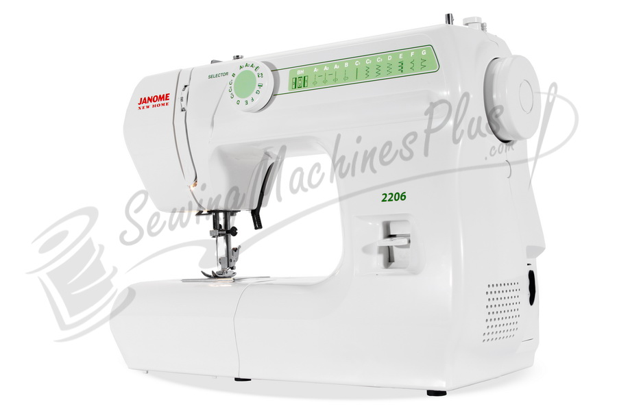 Refurbished Janome 2206 Full Size Sewing Machine with Freearm