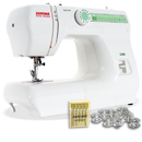 Photo of Janome 2206  Full Size Sewing Machine with Freearm & FREE BONUS from Heirloom Sewing Supply