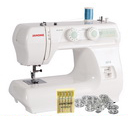 Photo of Janome 2212 12 Stitch Full Size Freearm Sewing Machine & FREE BONUS from Heirloom Sewing Supply