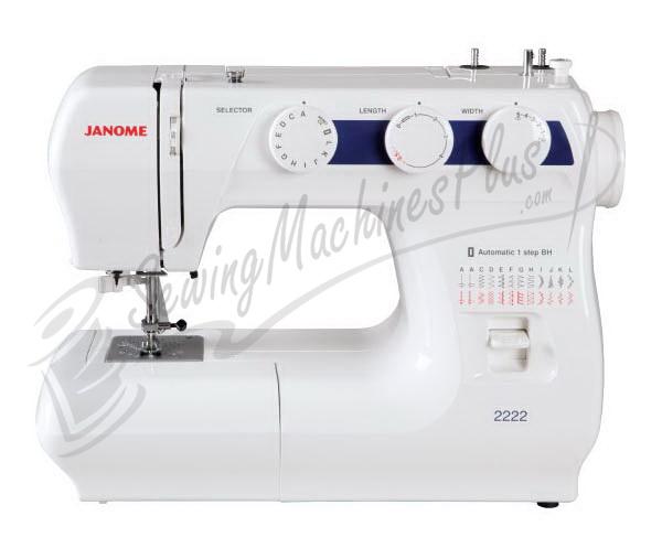 Refurbished Janome 2222 Sewing Machine