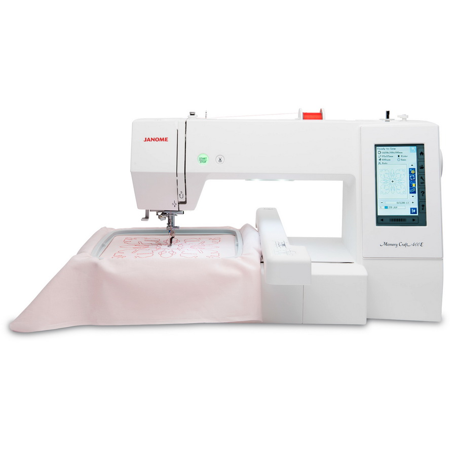 Monogram Machine-Janome Memory Craft Embroidery Machine