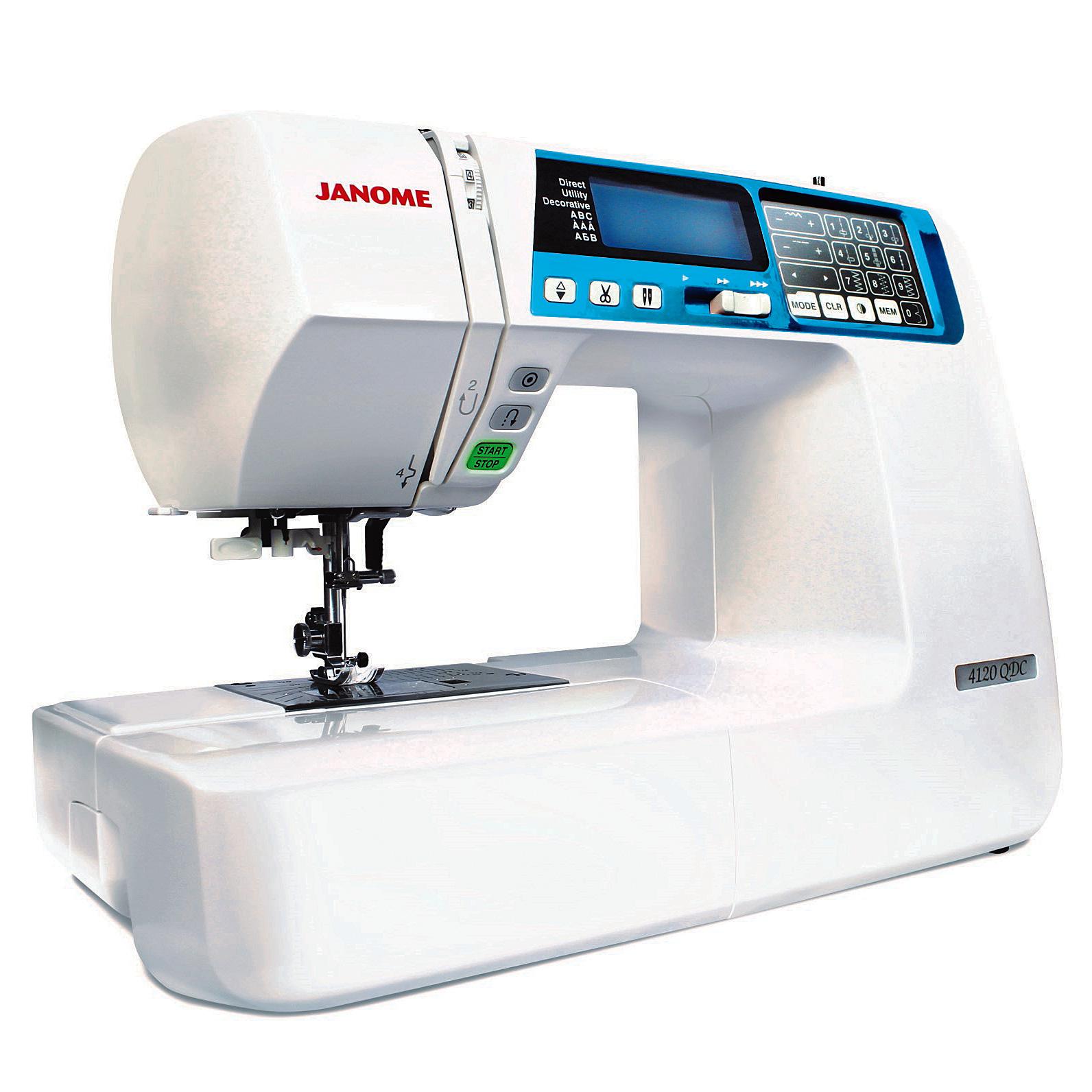 Janome 4120qdc b quilters decor computerized sewing and for Decor 99 sewing machine