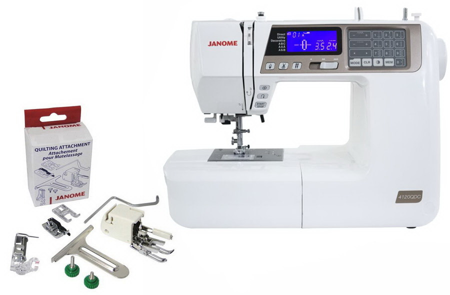 Janome 4120QDC: Best Janome Sewing Machine For Intermediate Sewers