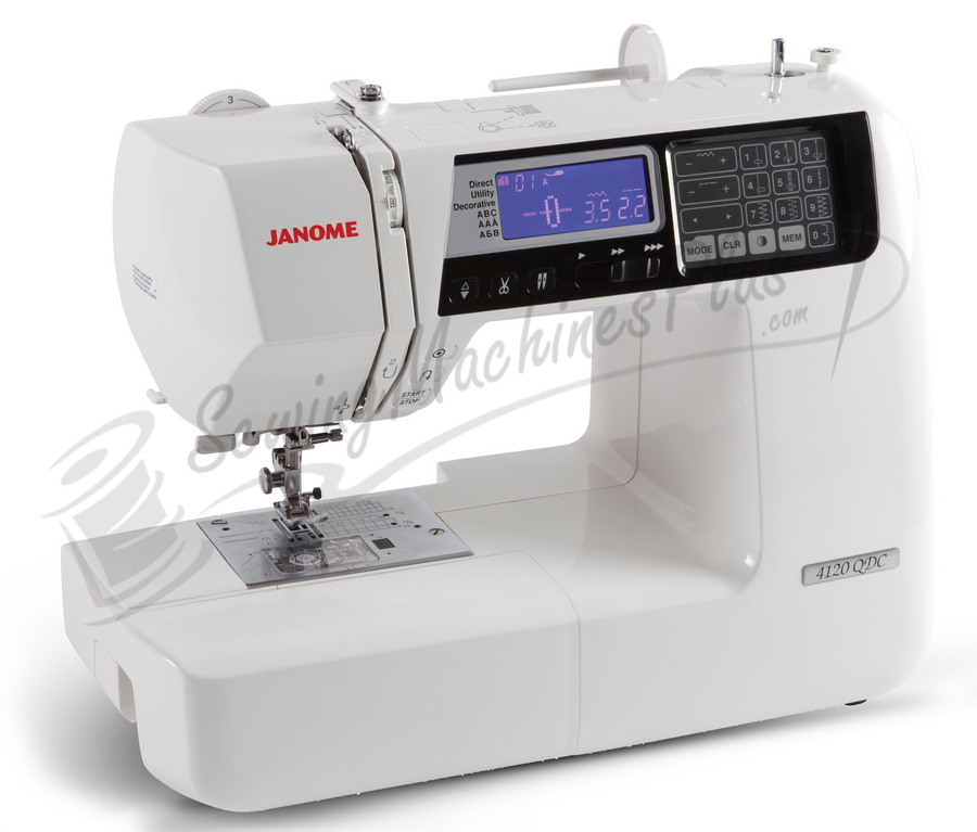 Janome 4120QDC Quilters Decor Computerized Sewing and Quilting Machine