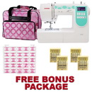 Photo of Janome 6100 Sewing Machine with a FREE Bonus  Package! from Heirloom Sewing Supply
