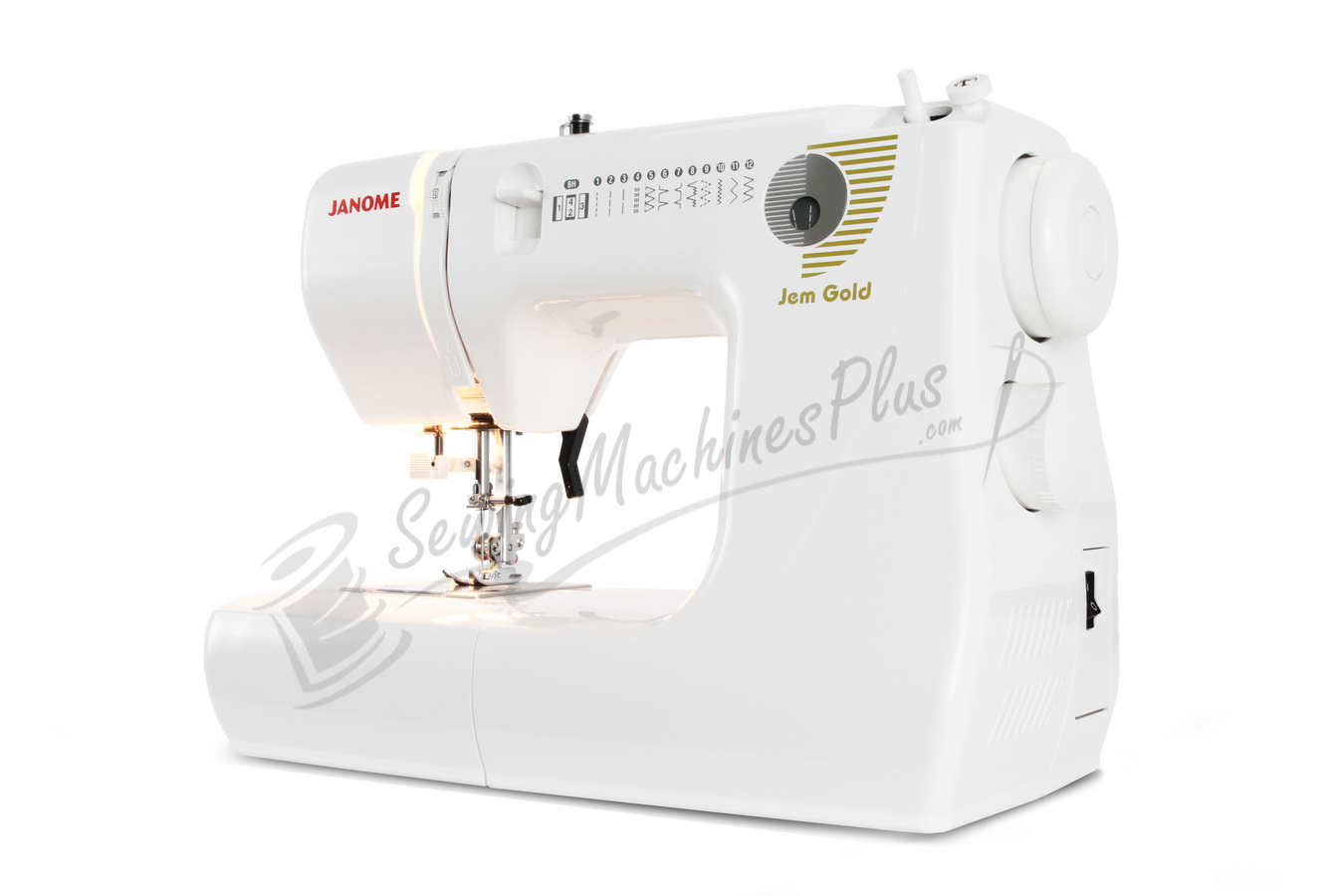 Janome Jem Gold 660 Sewing and Quilting Machine Refurbished