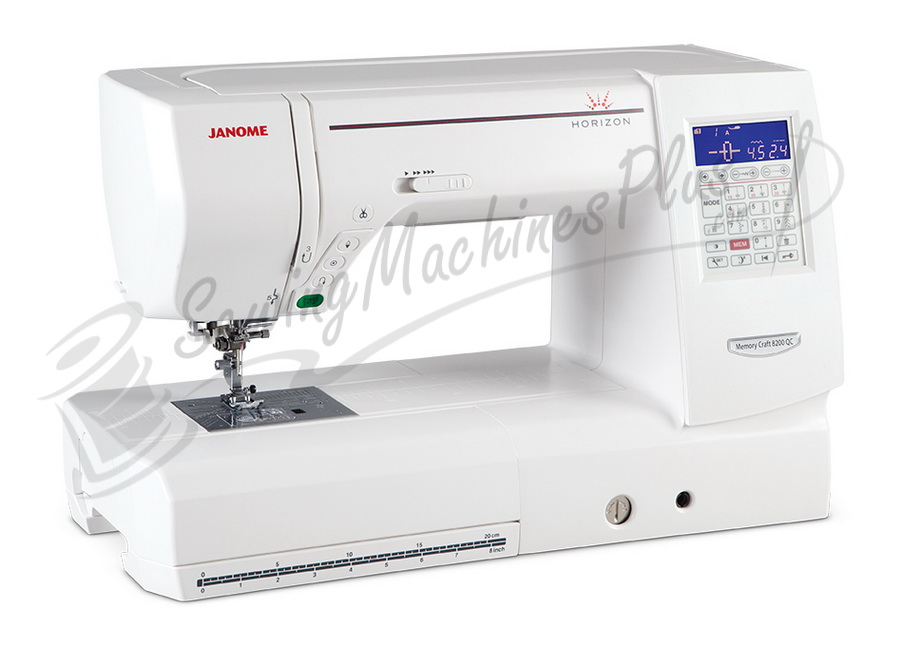 Janome Horizon 8200QC Sewing Machine