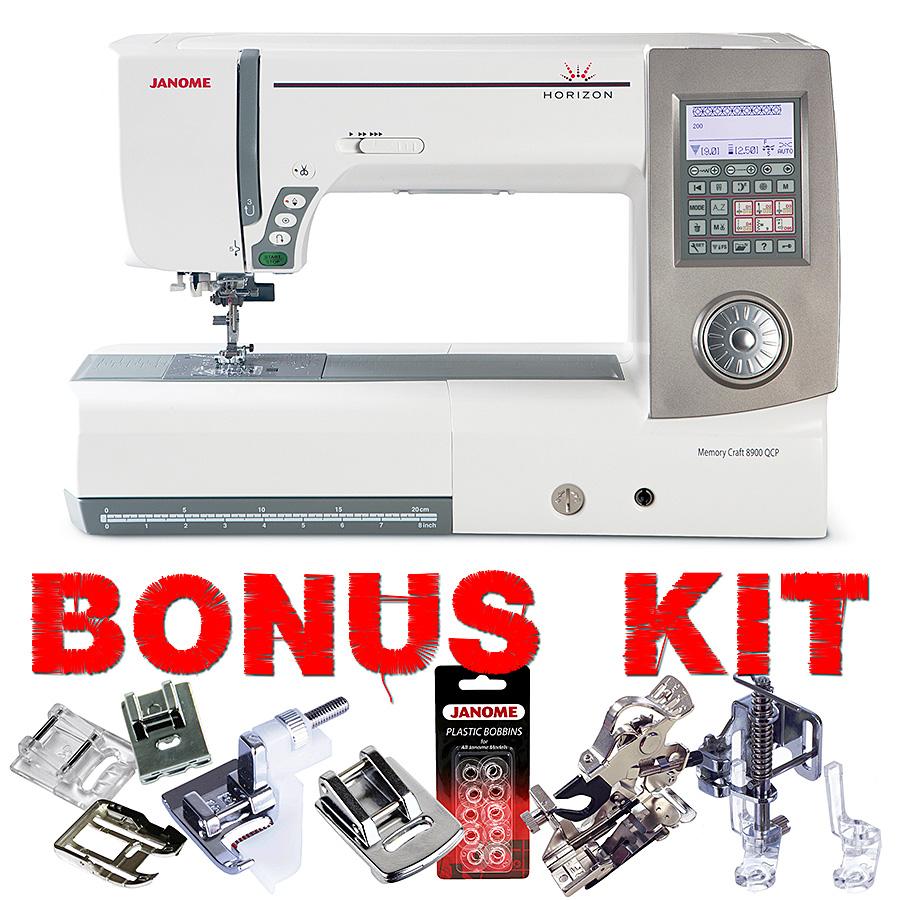 Janome horizon memory craft 8900 - Janome Horizon 8900qcp Sewing Machine