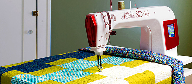 The NEW Artistic Quilter Sit Down 16
