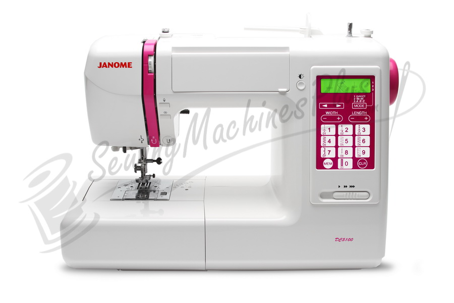Refurbished Janome DC5100 Computerized Sewing Machine