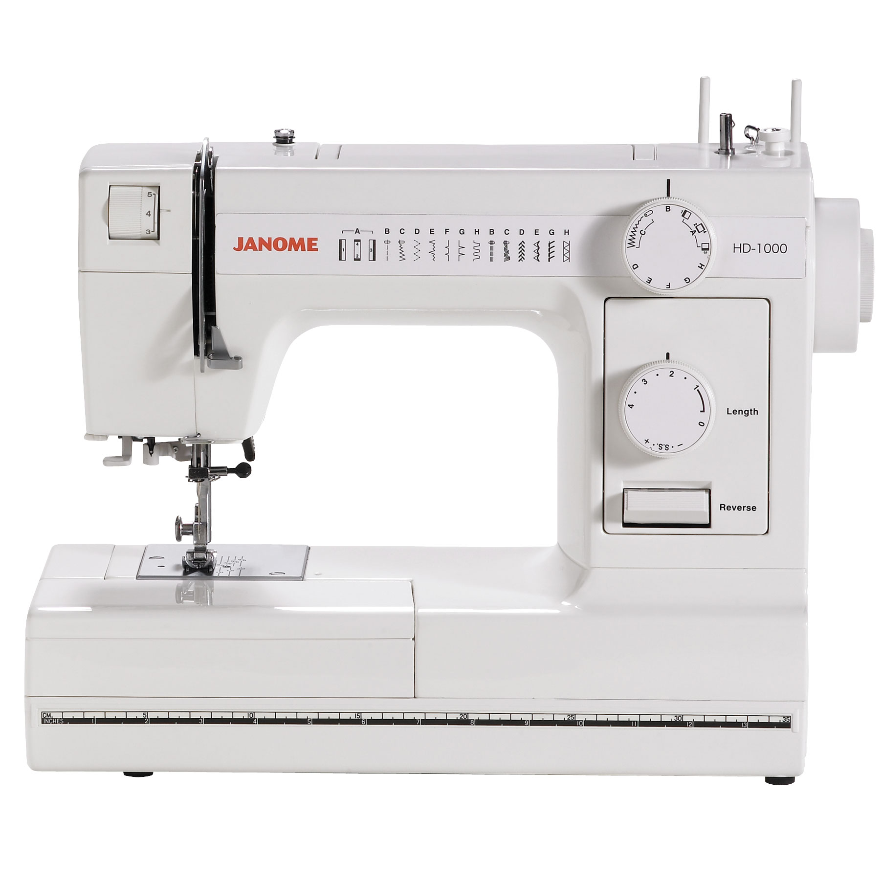 Refurbished Janome HD1000 Mechanical Sewing Machine