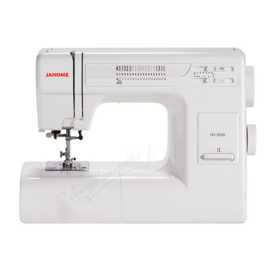 Refurbished Janome HD3000 Heavy Duty Mechanical Sewing Machine
