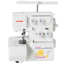 Photo of Refurbished Janome Magnolia 7034D 3- & 4-Thread Serger w/ Differential Feed from Heirloom Sewing Supply