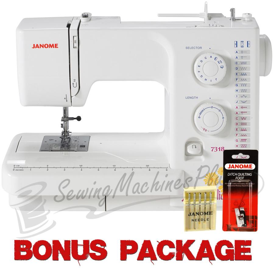 Janome Magnolia 7318 Sewing Machine W Free Bonus