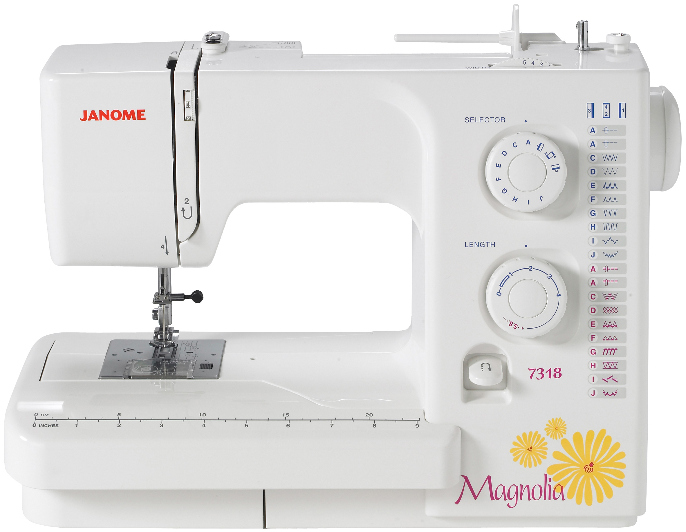 Refurbished Janome Magnolia 7318 Sewing Machine