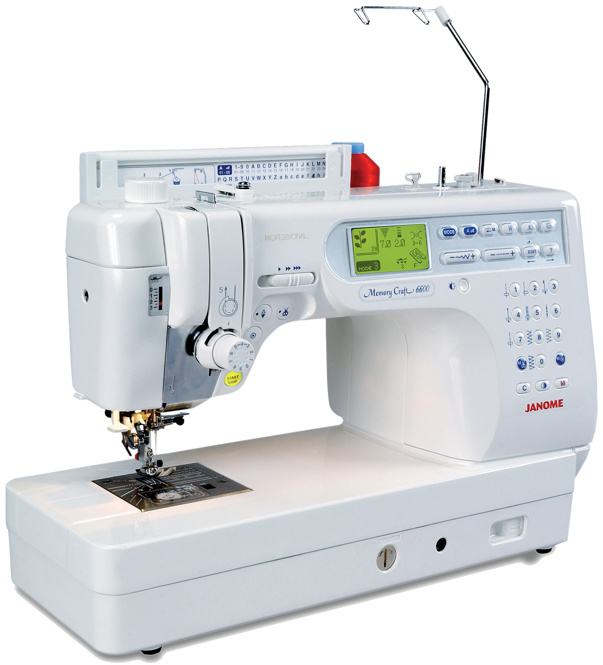 Janome Memory Craft 6600 Professional Sewing & Quilting Machine