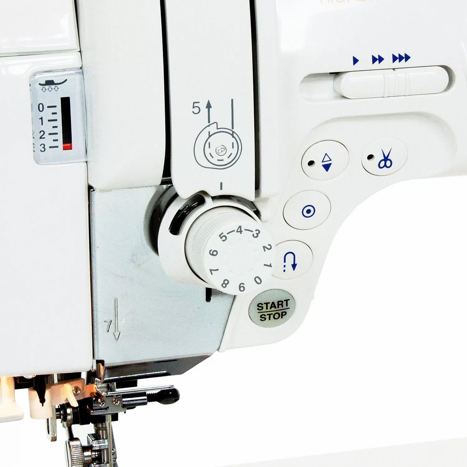 how to change a needle on a janome sewing machine