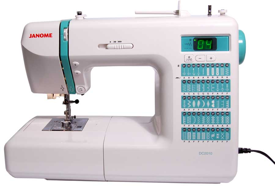 Janome DC2010 - 50 Stitch Computerized Sewing Machine ...