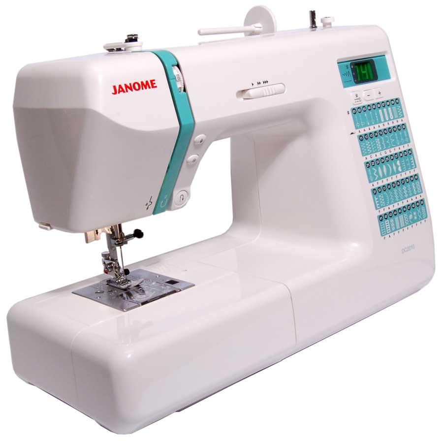 Janome dc stitch computerized sewing machine