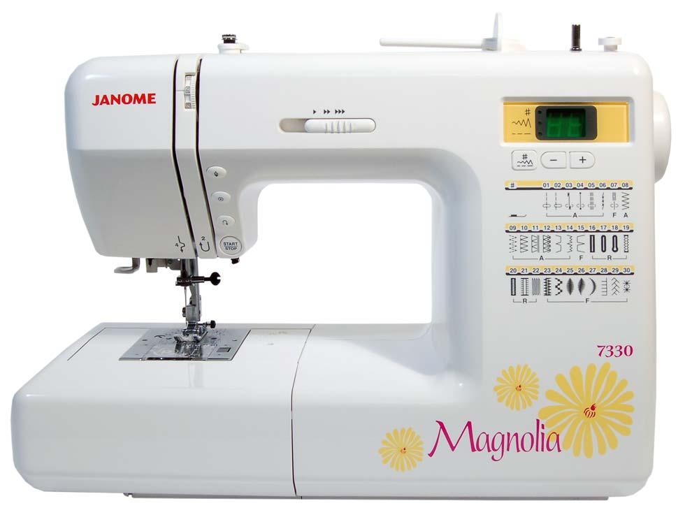 Refurbished Janome Magnolia 7330 Sewing Machine
