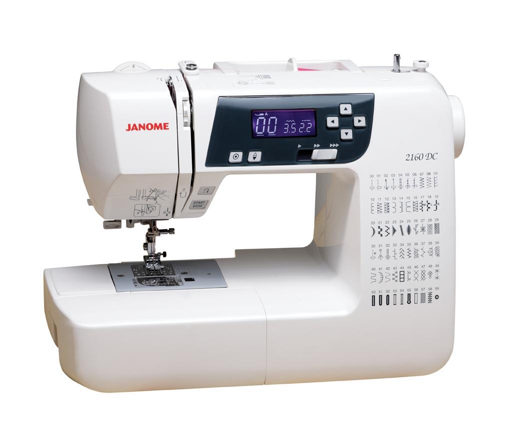 Janome dc computerized sewing machine
