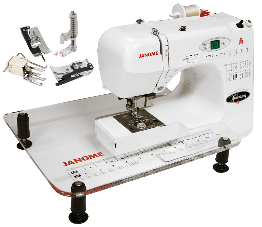Janome Aqs 2009 Quilters Combo W Extension Table Amp 4