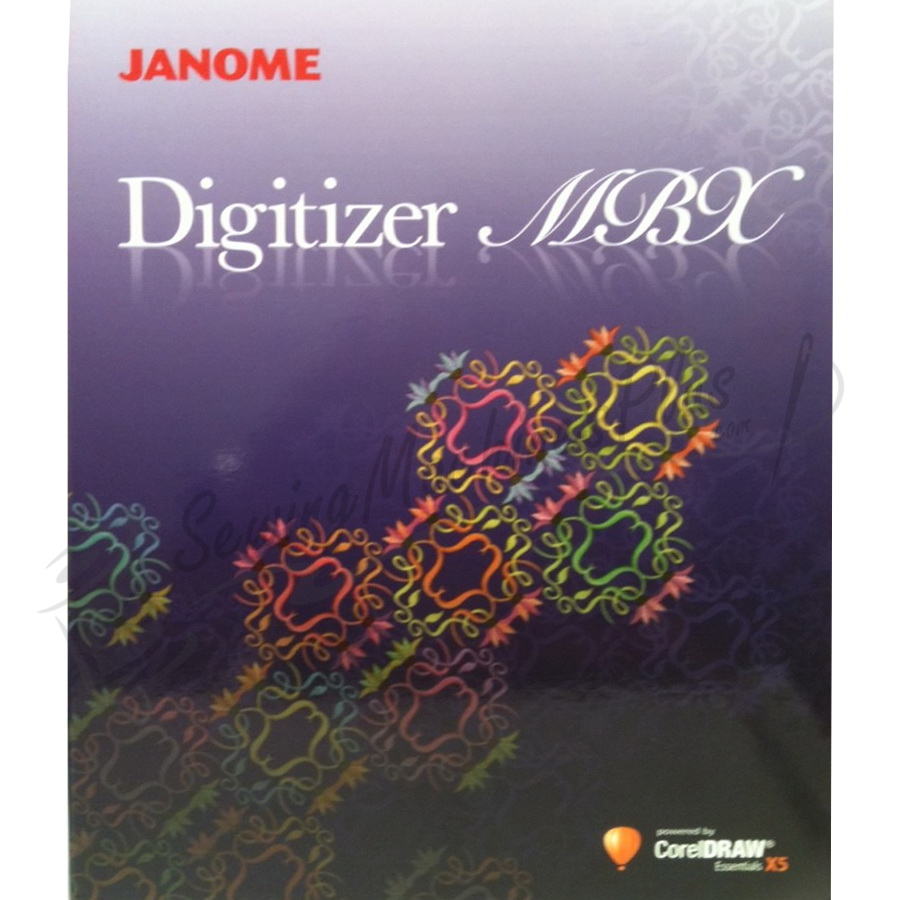 Janome Digitizer MBX Version 4.0 Software