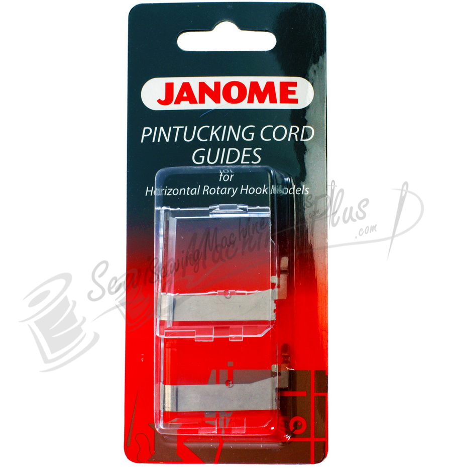 Janome pintucking cord guides for horizontal rotary hook for Decor excel 5018