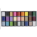 Photo of Janome Polyester Embroidery Thread Kit 1 from Heirloom Sewing Supply