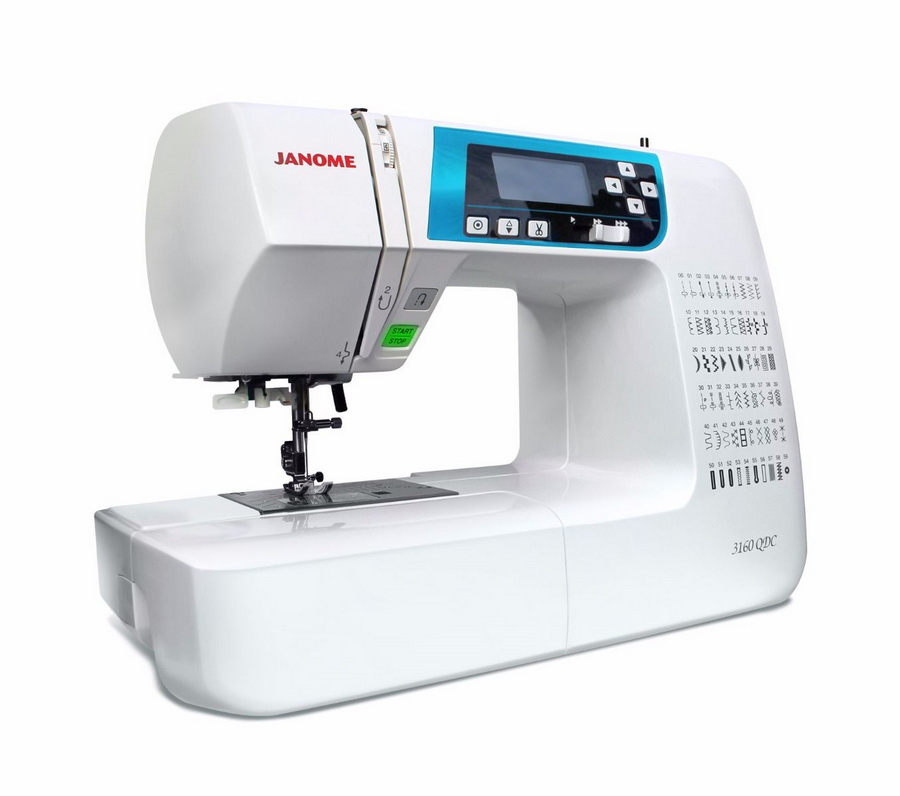 Janome 40QDC Blue Face Sewing Machine Enchanting Janome Sewing Machine Dealers
