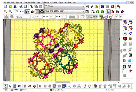 Janome Digitizer Mb V30 Embroidery Software