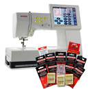 Janome Memory Craft 11000 SE Sewing, Quilting, & Embroidery w/ BONUS | $99/month