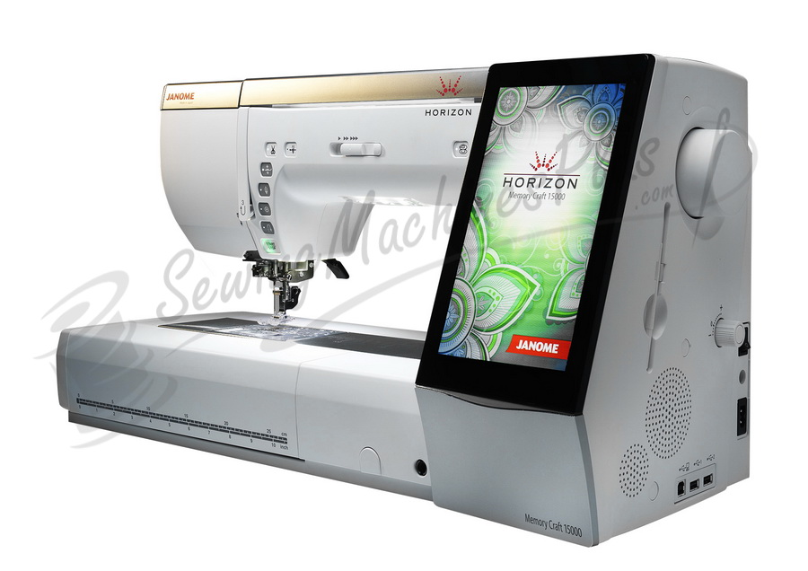 Janome Horizon MC 40 Sewing Embroidery And Quilting Machine Extraordinary Embroidery Sewing Machine