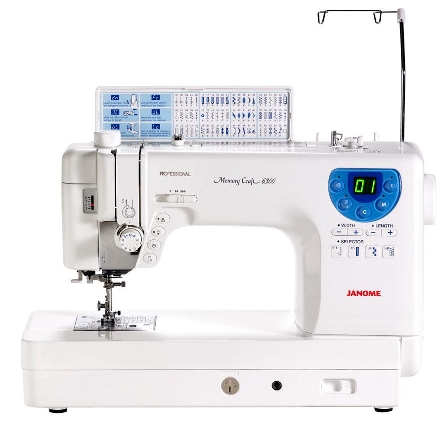 Refurbished Janome Memory Craft 6300P Sewing & Quilting Machine